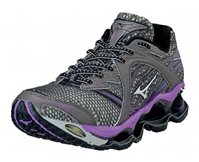 Mizuno Lady Wave Prophecy Running Shoes - 10.5 - Grey
