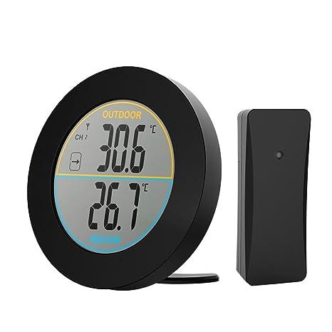 Betuy Digitales Thermometer Indoor Raumtemperatur Monitor Große Lcd