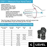 Level Fly Junior Youth Snowboard Mittens with Wrist