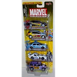 Maisto Marvel Die Cast 5 Car Collection #2 of 5