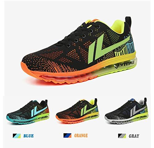 Corsa arancione Sneakers Scarpe Interior Basse Fitness Vitike 1 Sportive Air Running Ginnastica Da Uomo Casual All'aperto Donna 7qvpnYa