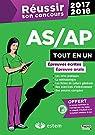 Réusir son concours AS/AP 2017-2018 - Tout-en-un par Berdaguet-Boutet