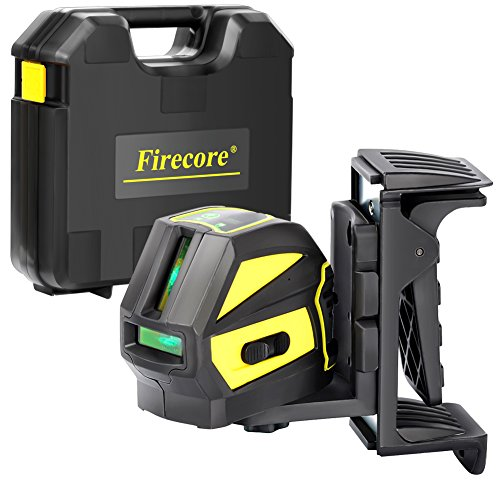 Firecore F118G Professional Self-Leveling Cross Line Laser, Green (Professional Cross)