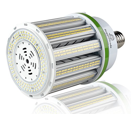 16,250 Lumen LED Corn Bulb - 125 Watt LED Corn Light - Fanless Technology LED Corn Cob Light - E39-3000K - 400 Watt Metal Halide Replacement - UL & DLC -