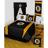 NHL Boston Bruins Hockey Team Queen-Full Comforter Set