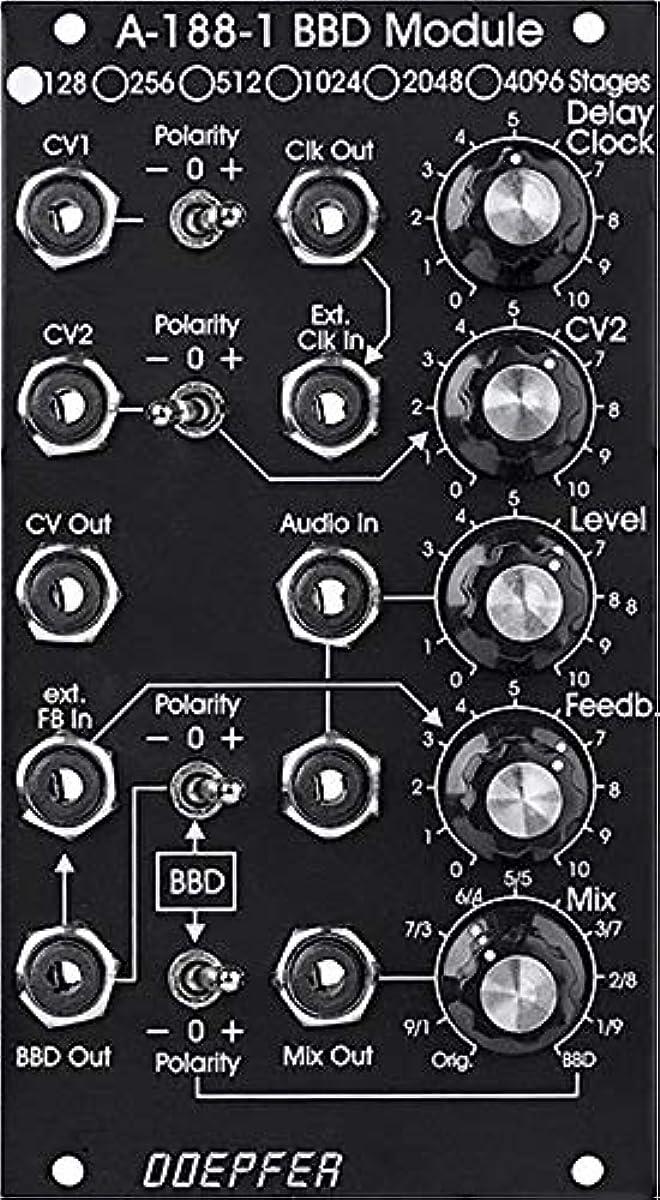 [해외] DOEPFER A-188-1DV BBD 4096 STAGE 유로랙 모듈러 신세