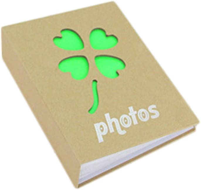 100 Hojas Chytaii /Álbum de Fotograf/ía Protector Fotos /Álbum de Papel Kraft 6 Pulgadas 50P/áginas