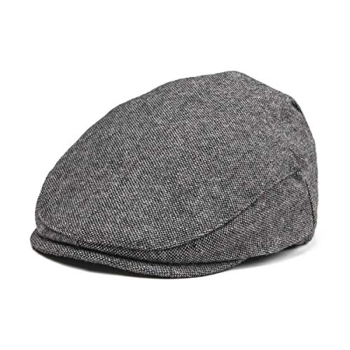 JANGOUL Kids Wool Tweed Flat Cap Herringbone Boy Girl Newsboy Caps Infant Toddler Child Youth Beret Hat Ivy Gatsby Cap