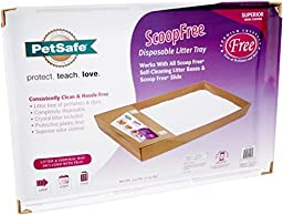 ScoopFree Litter Tray Refills with Dye-Free Crystals - Single Pack