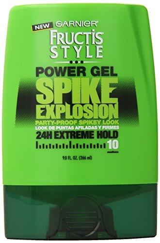Garnier Fructis Style de Spike Explosion Power Gel, 9 Fluid Ounce