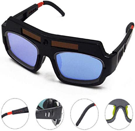 Welding Goggle Auto Dimming Solar Power Soldering Mask Helmet Eye Protection New