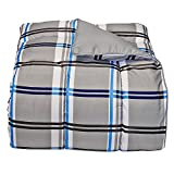 Campus Linens Gibson Plaid Twin XL Comforter for College Dorm Bedding