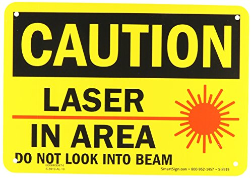 SmartSign Aluminum OSHA Safety Sign, Legend