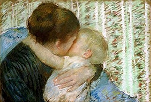 Posterazzi A Goodnight Hug Poster Print by Mary Cassatt (10 x 14) ()