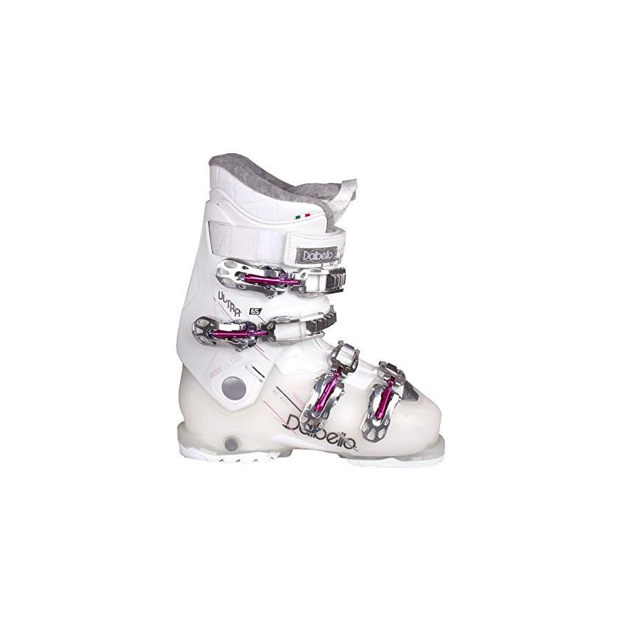 Dalbello Ultra 65 Women's Ski Boots White/Magenta 23.5