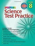 Spectrum Science Test Practice, Grade 8