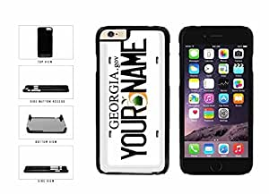 chen-shop design Personalized Custom Georgia License Plate pc pc SILICONE Phone Case Back Cover Samsung Galaxy Note II 2 N7100 high quality