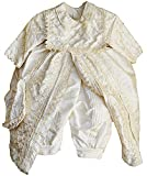 Handmade 100% Silk Christening Baptism Outfit for Boys (Burbvus Ropones)