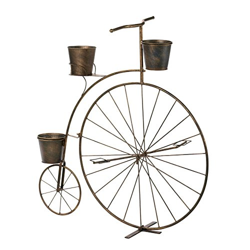 VERDUGO GIFT Old-Fashioned Bicycle Plant (Old Fashioned Bicycle)