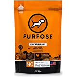 Purpose Freeze Dried Raw Whole Chicken Heart Treats for Dogs & Cats 3 Oz