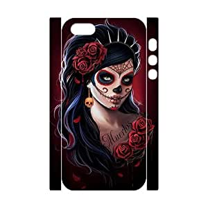 JCCFAN Day of the dead 1 Phone 3D Case For iPhone 5,5S [Pattern-6]