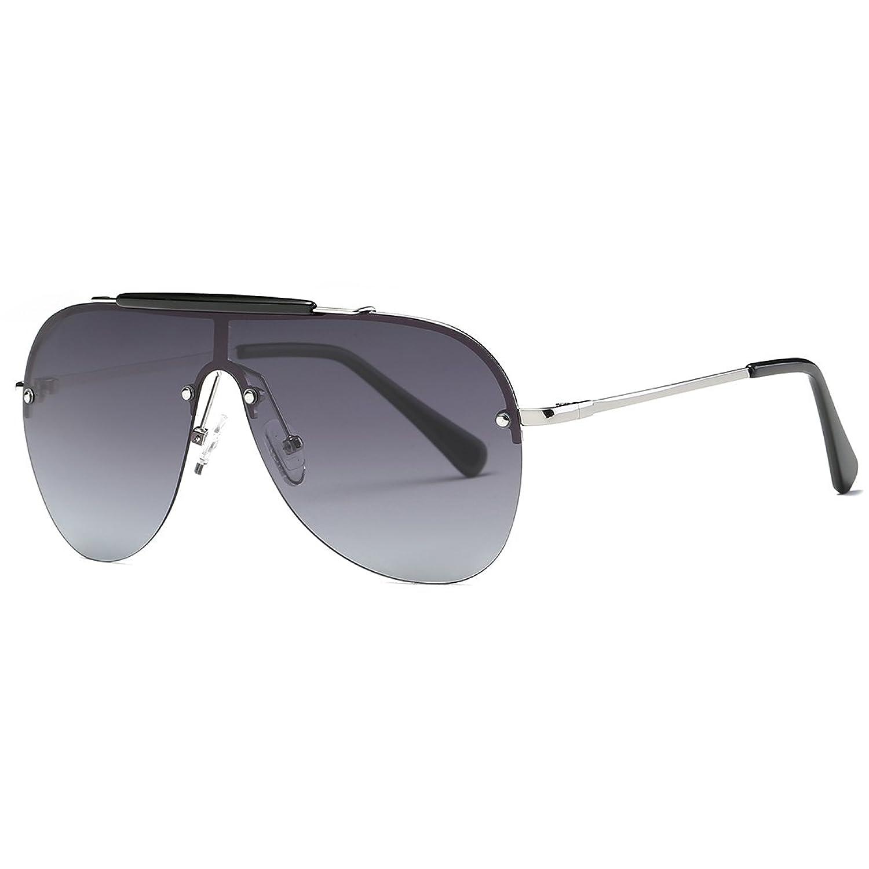 34322710f6 Kimorn Polarizado Gafas de sol Hombre Retro Pilotos Estilo Metal Marco  K0557 Lovely
