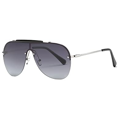 Kimorn Polarisé Lunettes De Soleil Hommes Rétro Pilotes Style Métal Cadre Des lunettes K0557 (Noir&Gris) LhjyZFmTE