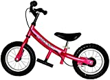 Mini Glider Kids Balance Bike with Patented Slow Speed Geometry (Pink)