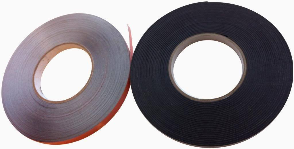 Magnetic Tape & Steel Tape Secondary Glazing - 500mm Kit For White Window Frames Direct Products