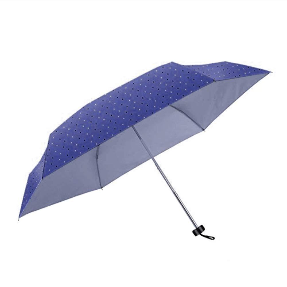 compact mini travel umbrella- sun&rain lightweight small umbrella with 99% UV Protection for women girls men kids