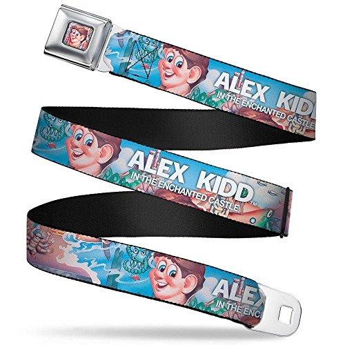Buckle-Down Seatbelt Belt Sega Alex Kidd Regular