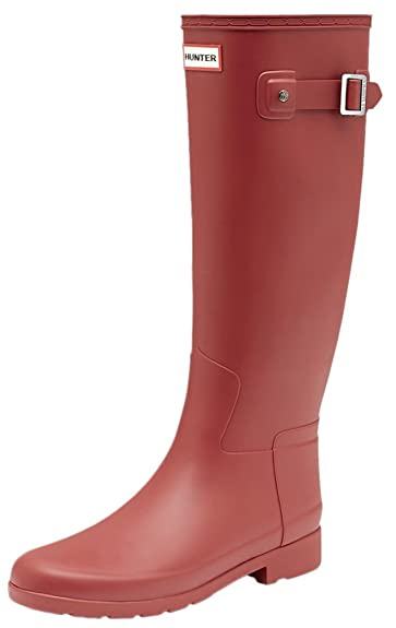 Hunter Women Original Refined Back Strap WFT1074RMA SCT Stiefel Rot