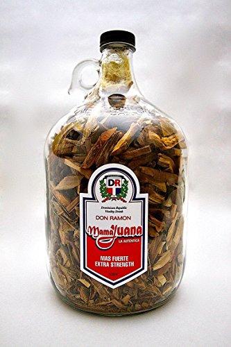 - Best Deal Offer Don Ramon Brand Aphrodisiac Coconut Mamajuana with Uña de Gato Large Size 3500ml / 1 Gallon Jug.
