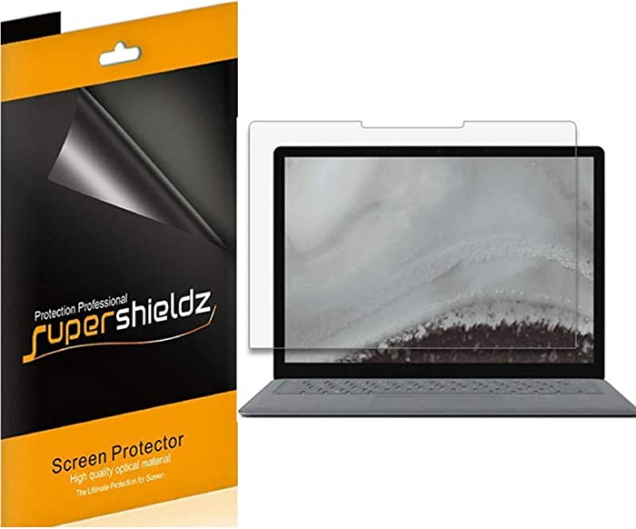 (3 Pack) Supershieldz for Microsoft Surface Laptop 3 (13.5 inch) Screen Protector, High Definition Clear Shield (PET)