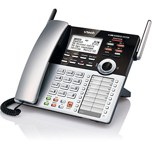 VTech 4-Line Small Business Phone System - Office Starter Bundle with  1 CM18445 Main Console, 1 CM18245 Deskset & 1 CM18045 Handset by VTech (Image #18)