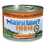 Cheap Natural Balance Limited Ingredient Diets Sweet Potatoes & Fish Canned Dog Food 6 oz. Case of 12