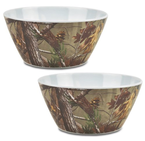 DII, Real Tree Serving Bowl, Melamine, Set of 2, 10