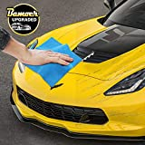 Bamoer [Upgraded] Scratch Remover Cloth,Multipurpose Car Paint Scratch Repair Cloth,Car Scratch Removal Cloth,Magic Paint Scratch Remover for Surface Repair,Scuffs Remover,and Strong Decontamin: more info