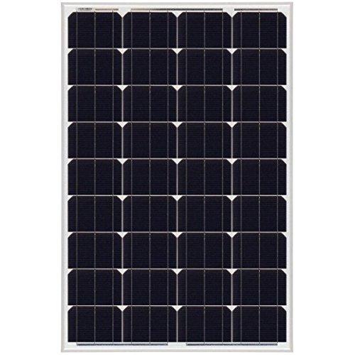 Monokristallines Solarpanel, 100 W, 12 V, NX