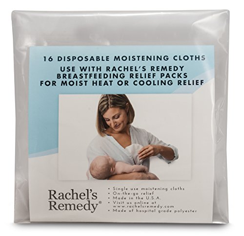 Rachel's Remedy 16 Disposable Moistening Cloths - For Use with Therapy Pack - FDA Cleared