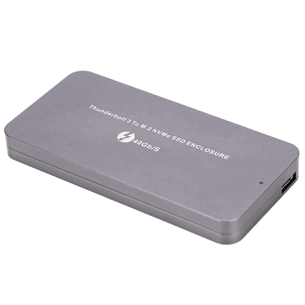 ASHATA Type-C a NVME SSD Caja del Gabinete Interfaz M.2 Caja de ...