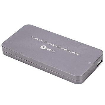 Kafuty Carcasa para Thunderbolt 3 Type-C a NVME SSD Carcasa ...