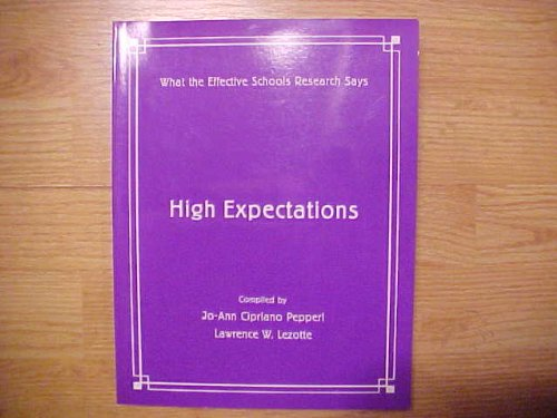 Read Online High Expectations pdf epub