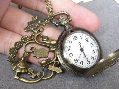 Cat Pendant Watch - 6