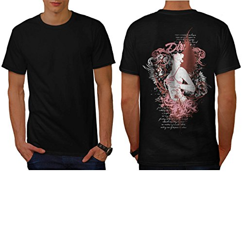 Dirty Shower Lady Bikini Body Men NEW L T-shirt Back | Wellcoda