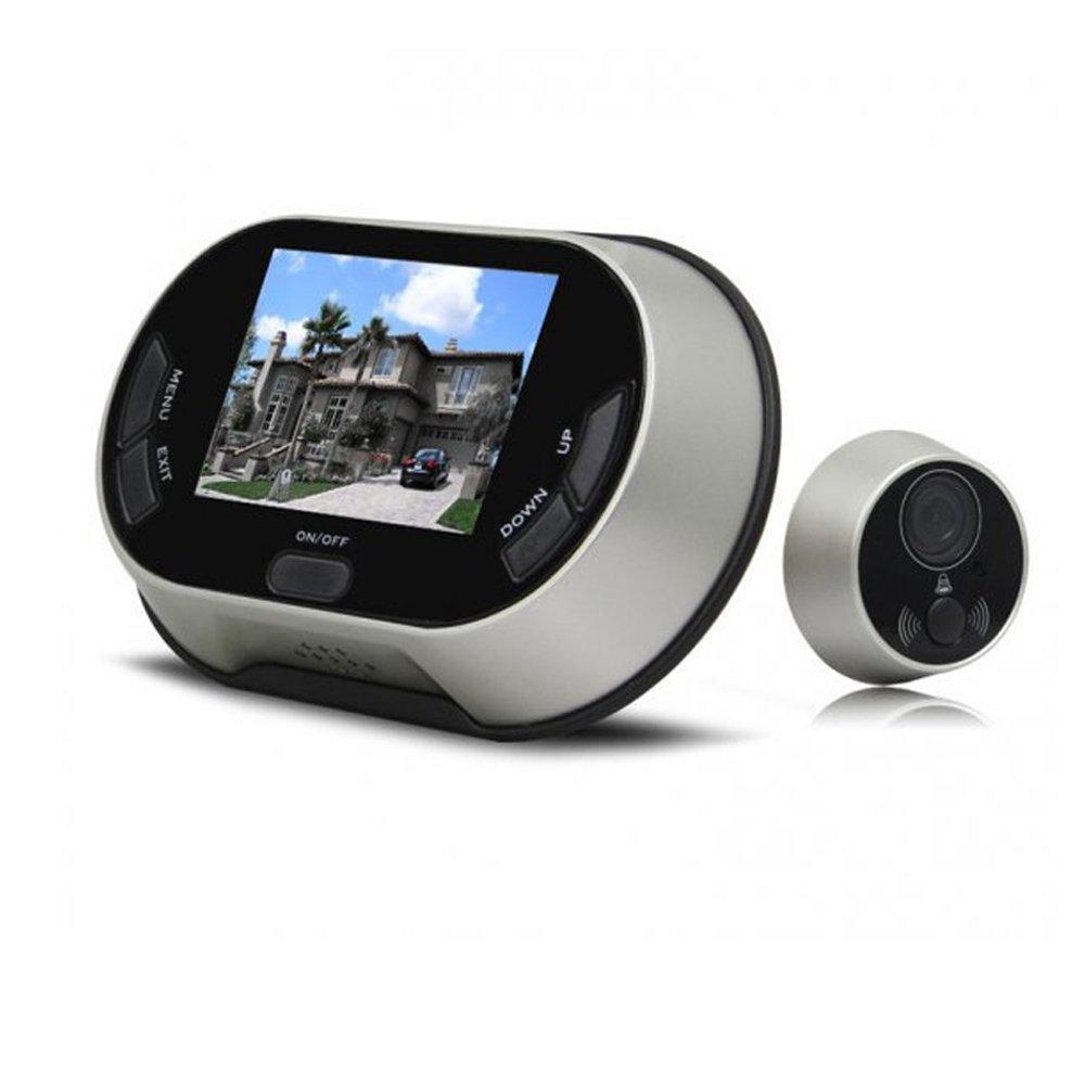 3.5 LCD Screen Digital Door Viewer ixaer Peephole Viewer Security Camera Monitor Video Record Photo Shooting