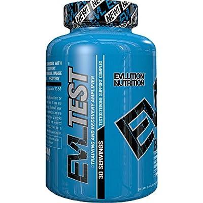 Evlution Nutrition Testosterone Booster EVL Test 120 Tablets