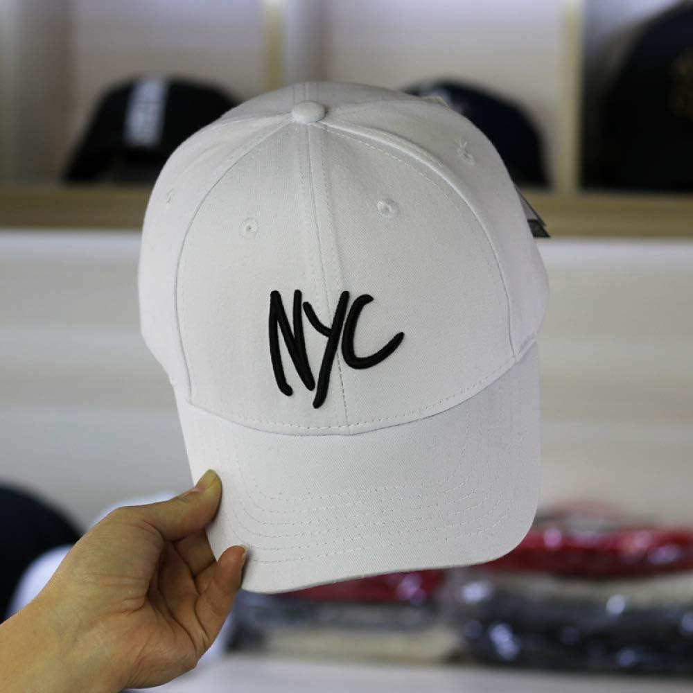 woyaochudan Gorra de béisbol Bordado de la Letra NYC de Nueva York ...