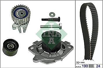 Kit distribución + Bomba Agua Ina 530062230 - 530043330: Amazon.es: Coche y moto