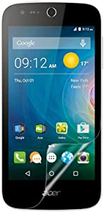 Celicious Vivid Invisible Glossy HD Screen Protector Film Compatible with Acer Liquid M330 [Pack of 2]